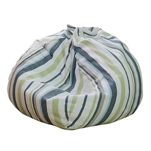 YLCJ fauteuil met slaapzak voor wasmachine afneembaar in de vorm van Beanbags, voor grote beanbags, voor kinderen en volwassenen