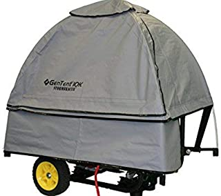 GenTent 10k Generator Tent Running Cover - Universal Kit (Standard, GreySkies) - Compatible with 3000w-10000w Portable Generators
