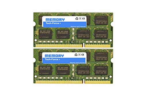 Memory Tech-Force Memory 32GB Dual Channel Kit 2X 16GB 204pin 1.35v DDR3-1600 SO-DIMM 1600/12800S (1600MHz, CL11) for Compatible i 27' 5K (Late 2015)