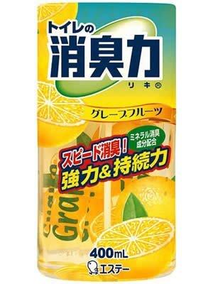 【エステー】トイレの消臭力 グレープフルーツ 400ml ×5個セット
