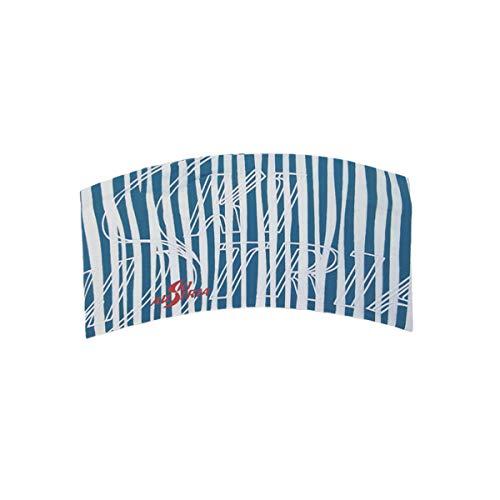 Ski Austria Stirnband Zebra (Petrol/weiß)