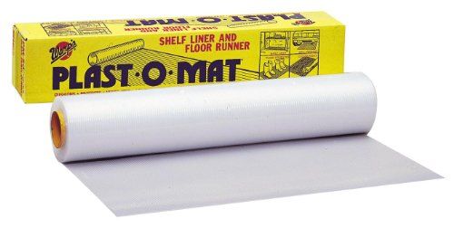 Warp Brothers PM-50 Clear Plast-O-Mat Ribbed Flooring Runner Roll, 30-Inch by 50-Foot, 50' X, Original Version