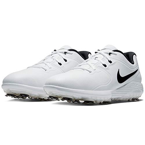 Nike Vapor Pro, Zapatillas de Golf Hombre, Blanco (White/Black/Volt 101), 45 EU