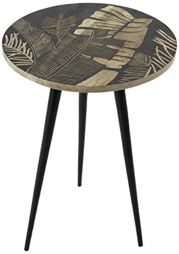 Amadeus - Table Basse gravée diamètre 40 cm