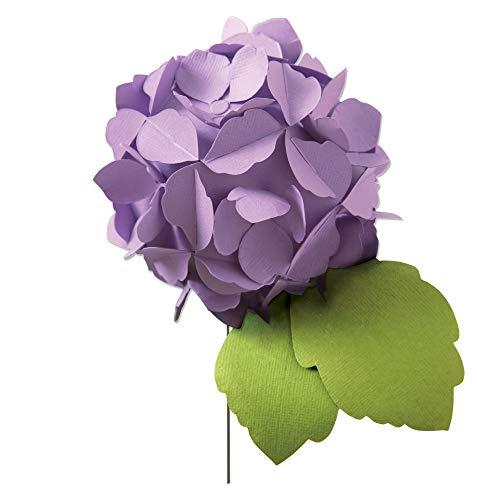 Sizzix Bigz Fustella a Forma di Ortensia, Taglia Unica, Multicolore