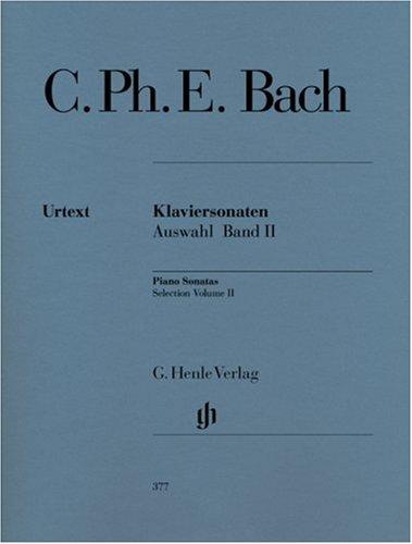 Klaviersonaten Auswahl 2. Klavier