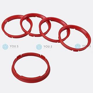1Pz x Anello boccola di centraggio in plastica per cerchi in lega da 72,2 a 56,1