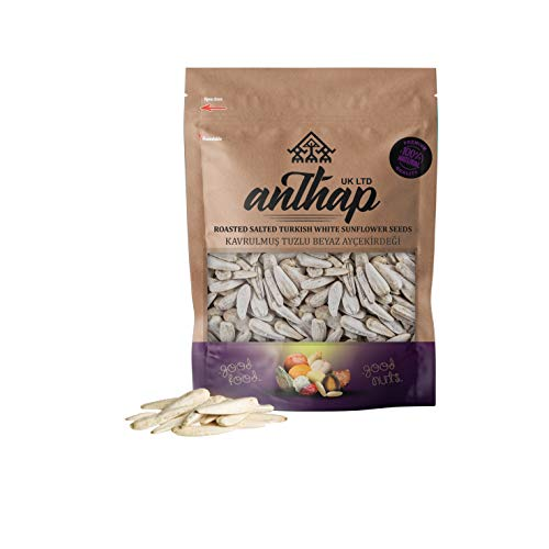 Anthap Roasted Salted Turkish White Sunflower Seeds (250g)