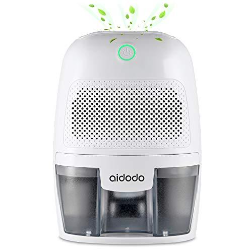 Luftentfeuchter, Aidodo 600ml mini elektrischer raumentfeuchter automatischer entfeuchter leise Dehumidifier für Schmutz und Schimmel zu Hause, Schlafzimmer, Kellerräume, Schrank, Wohnwagen, Büro