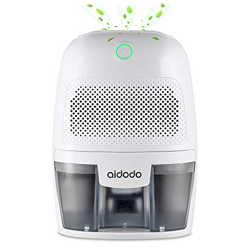 Aidodo Deshumidificador electrico Portátil 600ml Mini