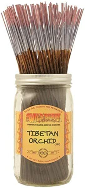 1 X Tibetan Orchid 100 Wildberry Incense Sticks