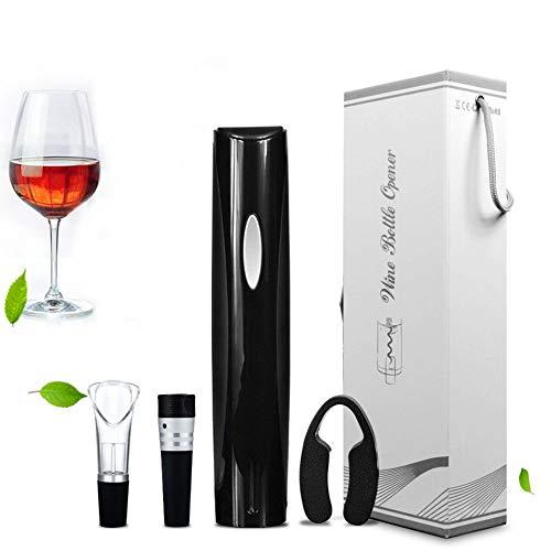 Eléctrico Abrebotellas del vino, Acero inoxidable Saca corchos Profesional Sacacorchos eléctrico Con...