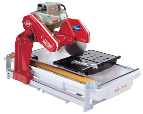MK Diamond MK-101 Pro 1-1/2-Horsepower 10-Inch Wet Cutting Tile Saw with Stand