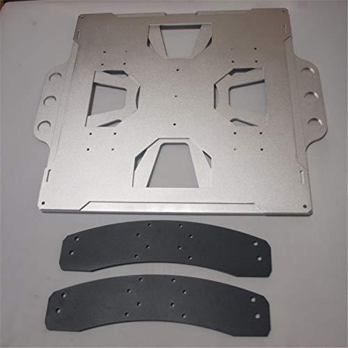 Alta qualità Lulzbot Vassoio di livellamento per aggiornamento carrello in alluminio TAZ 4/5 Kit letto sostituibile Kit di aggiornamento letto rimovibile Lulzbot Taz