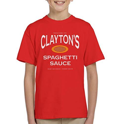 Cloud City 7 Claytons Spaghetti Saus Se7en T-shirt voor kinderen