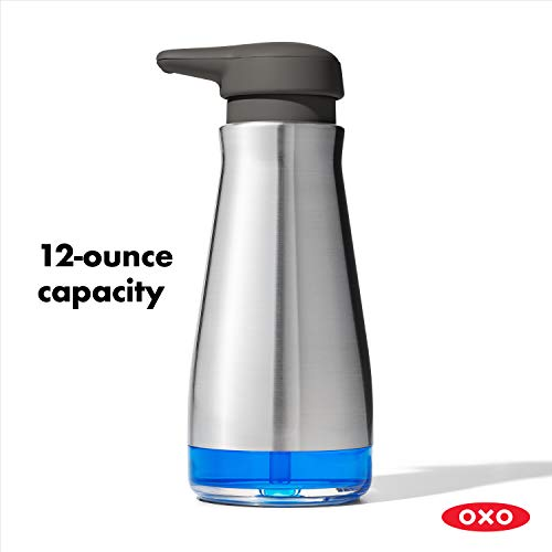 OXO Good Grips Stainless Steel Soap Dispenser