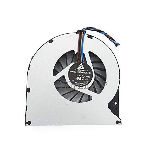 DBTLAP Ordenador Portátil CPU enfriamiento Ventilador Compatibles para Toshiba Satellite S70-B P70-B CPU Enfriador Ventilador