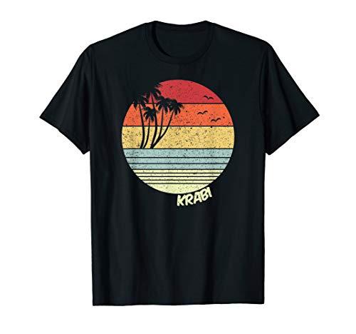 Krabi Thailand Strand Urlaub Souvenir T-Shirt