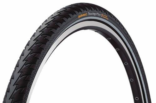 Continental Trekking-Reifen Touring Plus, Schwarz Reflex, 26 x 1.75 (47-559), 0100105