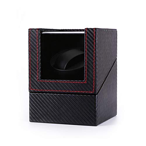 Jlxl Enrollador Automático Reloj Simple, Motor Extremadamente Silencioso, AC o con Pilas, 2 Modos Rotación, Relojes Fit Lady and Man Accesorios