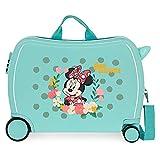 Disney Minnie Minnie Golden Days Maleta Infantil Azul 50x38x20 cms Rígida ABS...