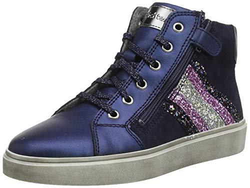 Richter Kinderschuhe Mädchen Ryana Hohe Sneaker, Blau (Atlant/Petro/Cand/SI 7201), 33 EU