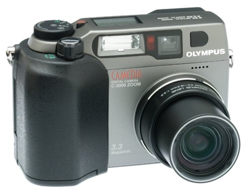 Olympus C-3000 3.2MP Digital Camera w/ 3x Optical Zoom