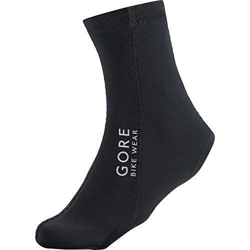 GORE BIKE WEAR Cubre zapatos ciclismo, GORE WINDSTOPPER, UNIVERSAL light Overshoes, Talla 45-47, Negro, FWSOVE