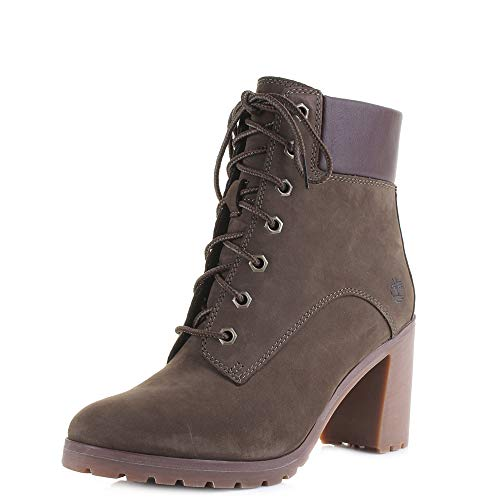 Timberland Ankle Boots Allington 6IN Lace Grun Damen