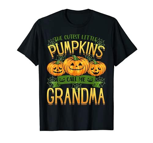 Las calabazas ms lindas me llaman abuela Halloween Camiseta