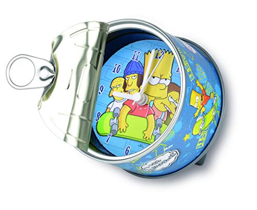 my clock MyClock Reloj de Mesa Magnético, Personalizable, Regalo Original con Foto, Marco de Fotos, DIY - Bart Simpson