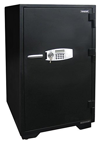 Honeywell Safes & Door Locks 2120 Fireproof and Water Resistant Security Safe with Dual Digital Lock and Key Protection, 5.9 Cubic Feet, Black