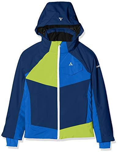 Schöffel Tours3, jas voor jongens, water- en winddichte ski- en outdoorjas, winterjas, hoogwaardige ski-jack met sneeuwvanger, robuuste regenjas