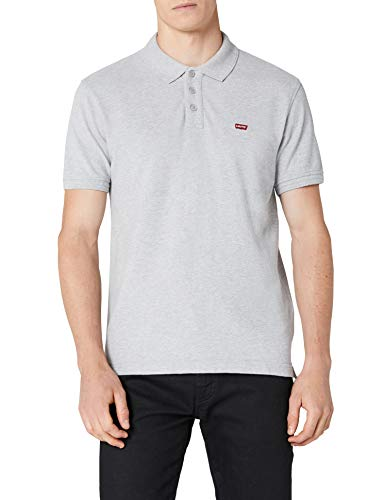 Levi's Herren Levi'S Housemark Poloshirt, Grau (Heather Grey), L(UK)