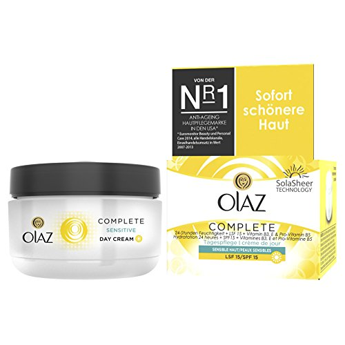 OLAZ Essentials Complete Tagescreme sensitiv, Tiegel
