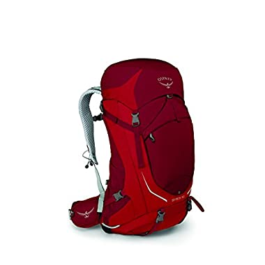 Osprey Packs Stratos 50 Backpack, Beet Red, M/l, Medium/Large