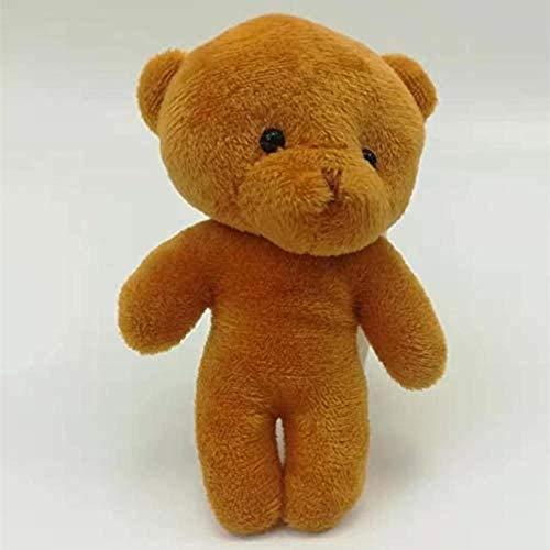 Witte Rijst Mini Pluchen speelgoed Knuffels sleutelhanger for Bouquet Cartoon Gift huwelijksgeschenken Xmas Gifts 12Pcs / Lot Tb007