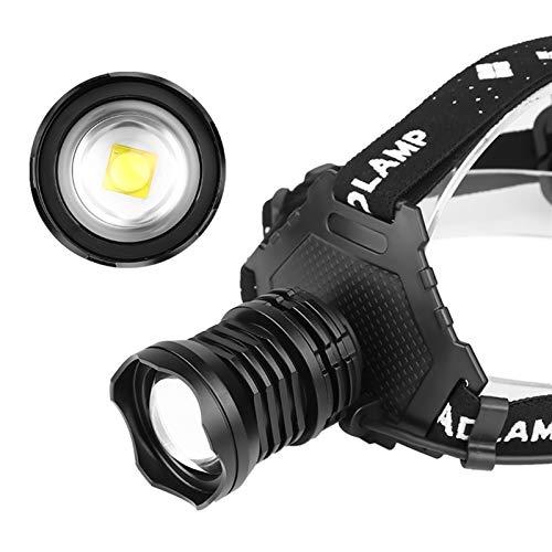 SHIYIMY Linternas Frontales Faro Recargable súper Potente 18650 LED Faros de la luz de la Cabeza de la lámpara de la lámpara de la Linterna Zoom LED Cabeza de la antorcha de la Cabeza iluminación