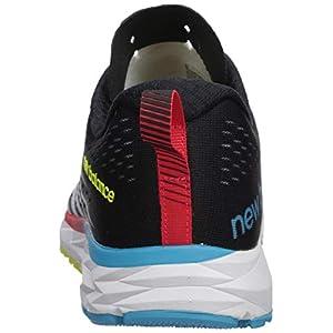 New Balance Men's 1500 V5 Running Shoe, White/Multicolor, 14 D US
