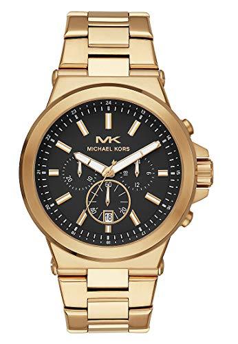 Michael Kors Reloj Cronógrafo para Hombre de Cuarzo con Correa en Acero Inoxidable MK8731