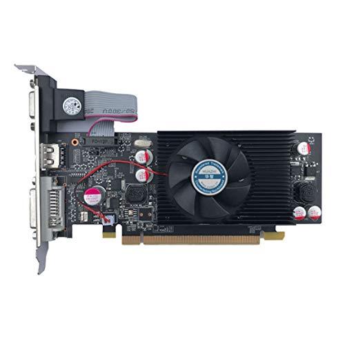 OocciShopp Grafikkarte, Pny Nvidia Geforce Vcggt610 Xpb 1 GB Ddr2 Sdram Pci Express 2.0 Grafikkarte Grafikkarte Grafikkarte (schwarz)