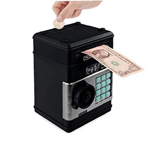 nJiaMe Electrónica Hucha Hucha Seguro para Niños Monedas Digitales día Efectivo de Ahorro de Caja Fuerte Máquina de San Valentín Regalo de la diversión en el hogar