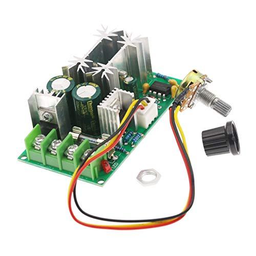 F Fityle Eficacia Del Módulo de La Impulsión de Poder Del Controlador Del Motor de 10-60V 20A PWM DC