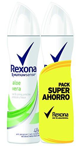 Rexona Déodorant Antitranspirant Aloe Vera Économique 2 x 200 ml - Total -400 ml