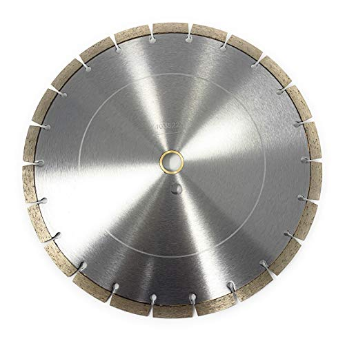 12-inch Dry or Wet Cutting Segmented Saw Blade for Concrete and Brick/ 1' Arbor
