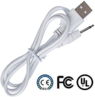 Original Replacement DC Charging Cable USB Cord for Rechargeable Device .25mm