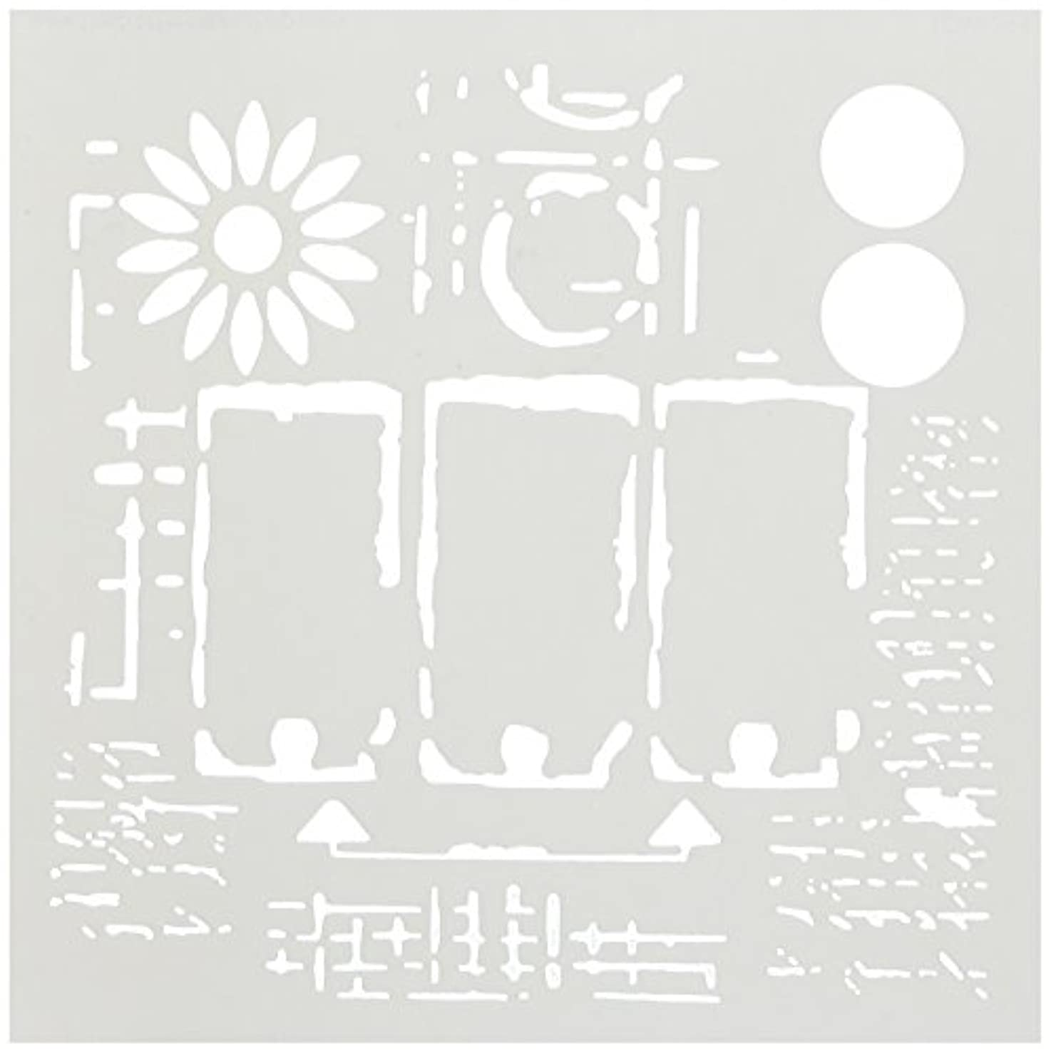 CRAFTERS WORKSHOP TCW624S Template, 6