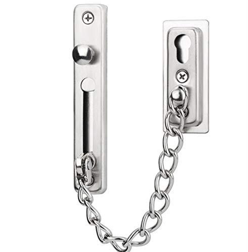 Tragbare Haustür-Diebstahlsicherungskette, Türverriegelung, verdeckte Diebstahlsicherung an der Hoteltür,stainless steel