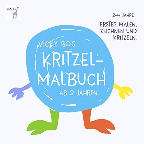 Kritzel-Malbuch ab 2 Jahre