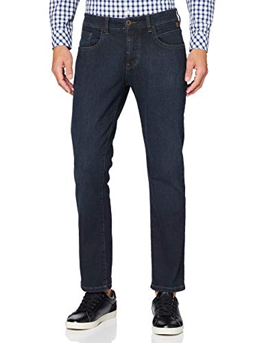 Camel Active Herren 9939 Loose Fit Jeans, Blau (Dark Blue Decent Use 85), W40/L34